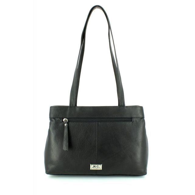 Gigi Bags P4176 Dshould 4176-30 Black handbag