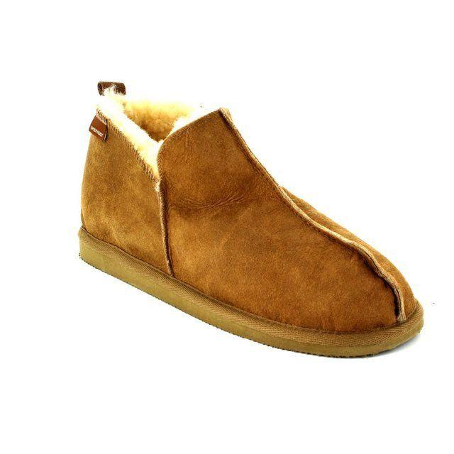 Shepherd's of Sweden Anton 4921-52 Brown slippers