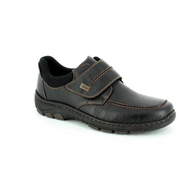 Rieker 19952-00 Black casual shoes