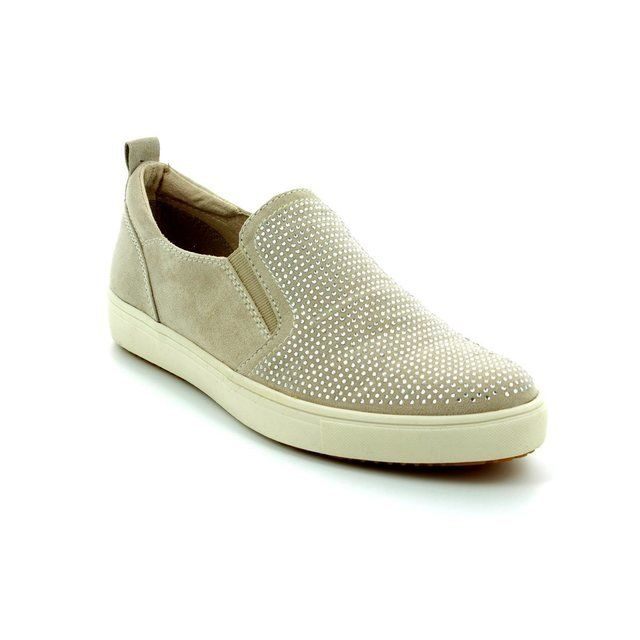 Tamaris Trainers & Canvas - Ivory - 24609/418 OMOTO