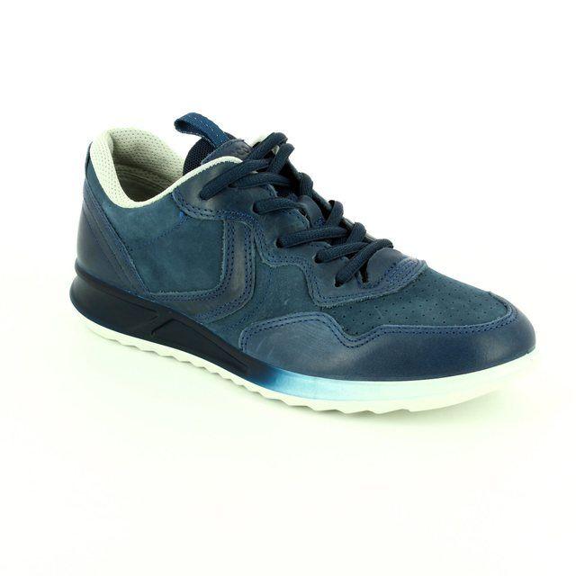 ECCO Genna 283543-50595 Navy lacing shoes