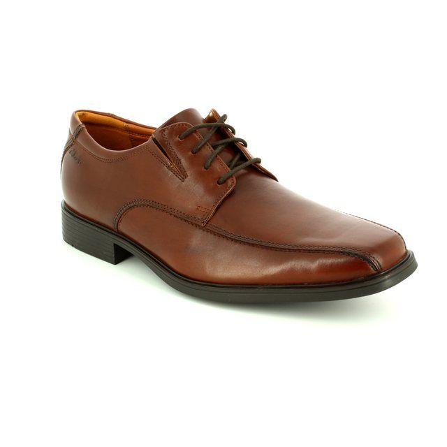 Clarks Tilden Walk Brown formal shoes