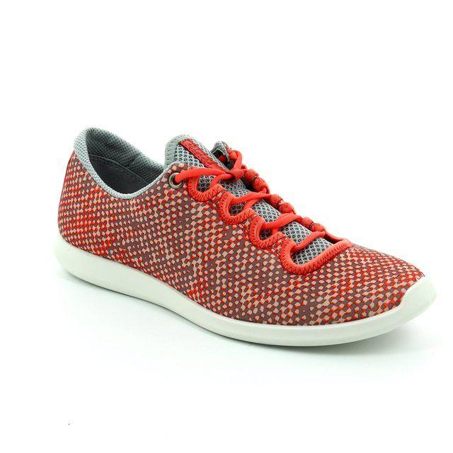 ECCO Sense Skech 284043-50559 Coral pink trainers