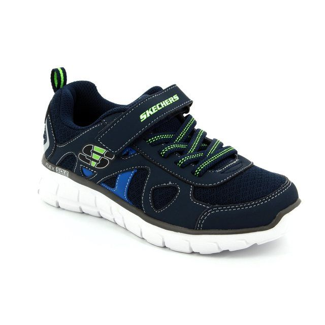 Skechers Vim Speed Thru 99809 NVYM Navy multi everyday