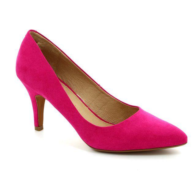 Lotus Dulcie Fuchsia high-heeled shoes