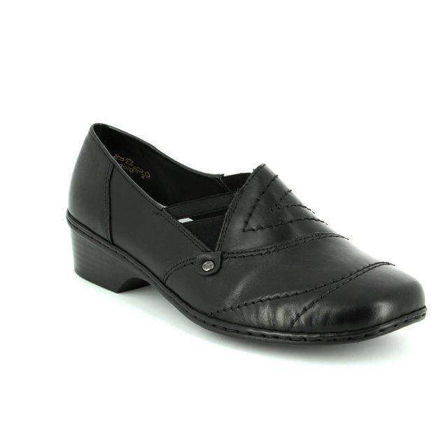 Rieker 48260-01 Black comfort shoes