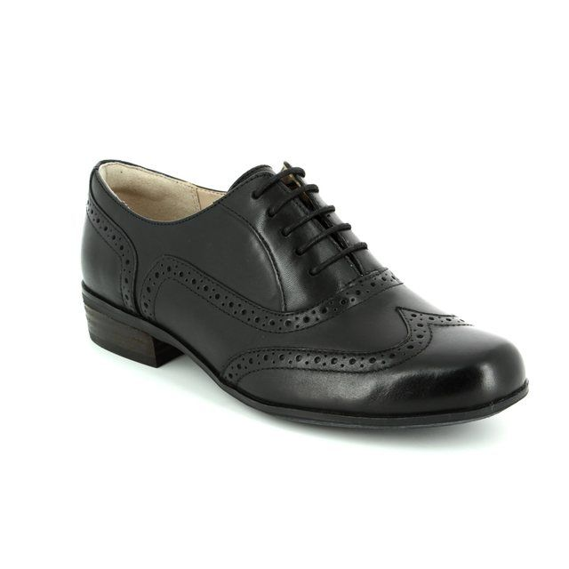 Clarks Hamble Oak D Fit Black comfort shoes