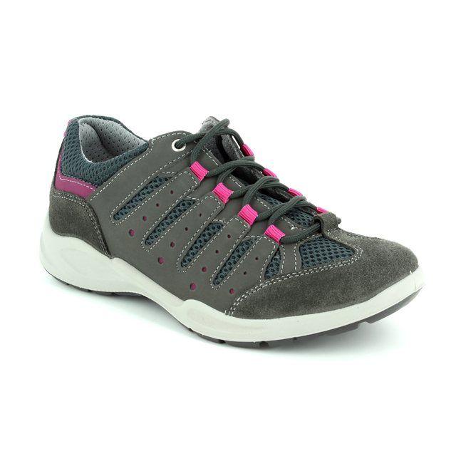 IMAC Runner 72420-7004018 Grey multi lacing shoes