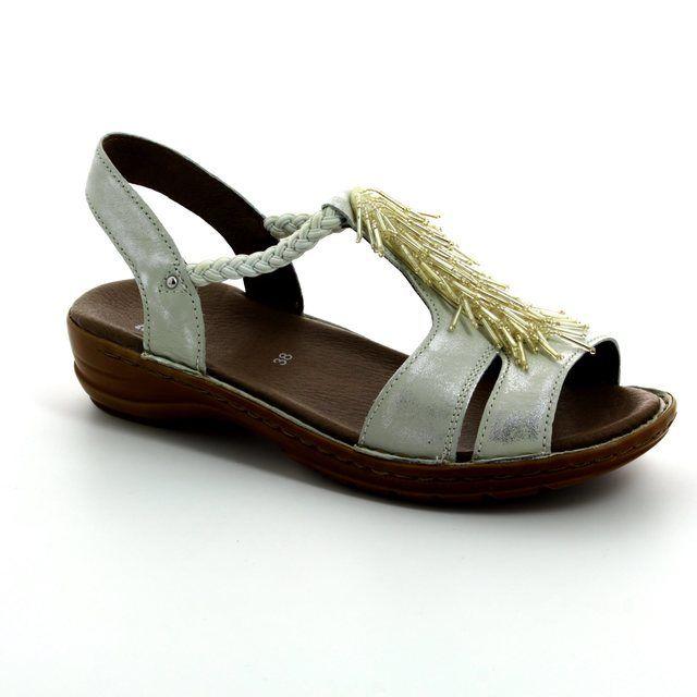 Ara Hawaiifur 1237270-06 Oyster Pearl sandals