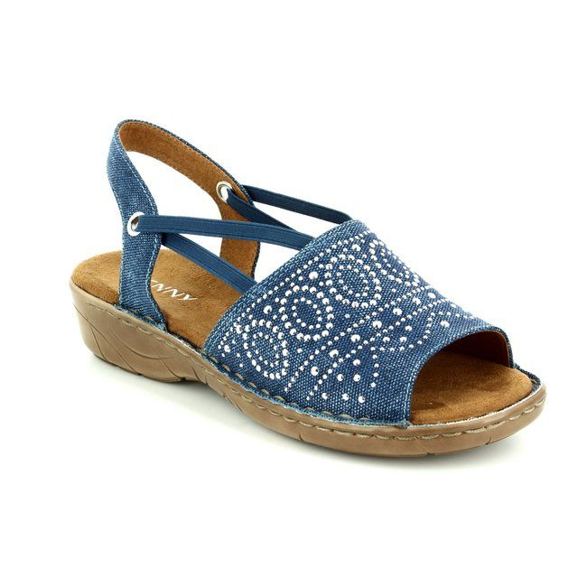 Ara Korsidia 2257262-76 Blue sandals