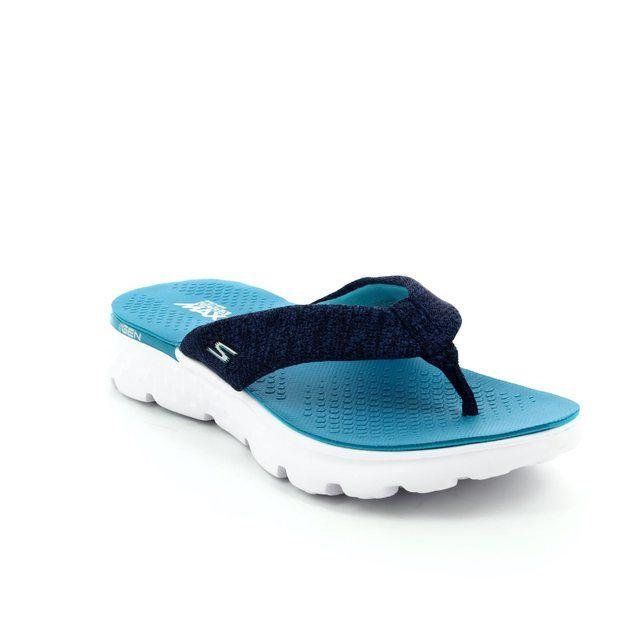 Skechers Vivacity 14656 NVYM Navy multi sandals