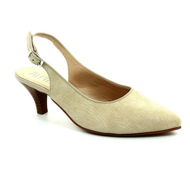 Alpina Latina 9I31-A Beige multi high-heeled shoes