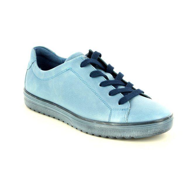 ECCO Fara 235383-01118 Pale blue lacing shoes