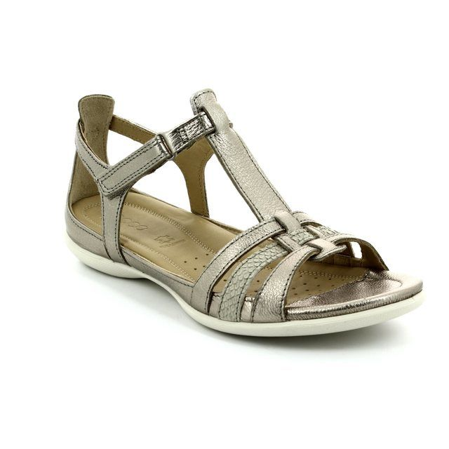 ECCO Flash Tbar 240873-57462 Pewter sandals