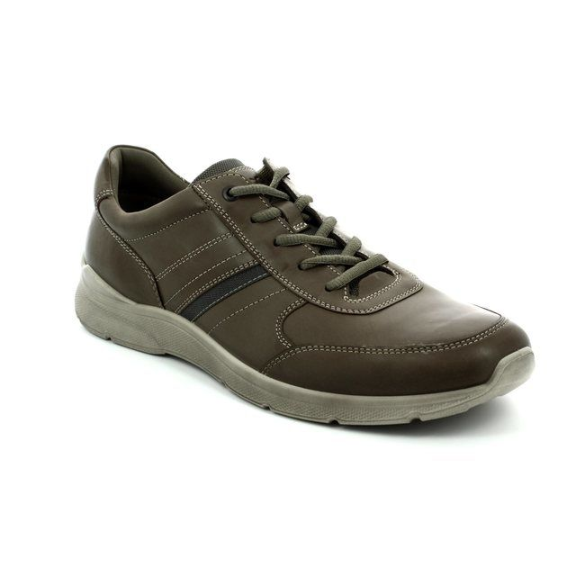 ECCO Irving Too 511564-02559 Dark taupe casual shoes