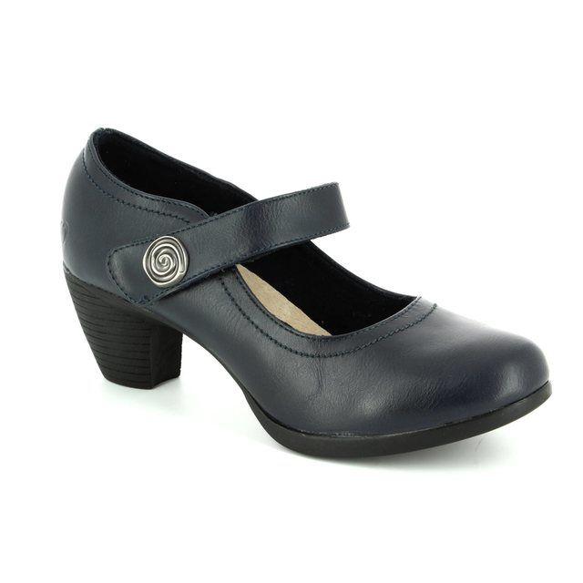 Heavenly Feet Pine 7011-70 Navy shoe-boots