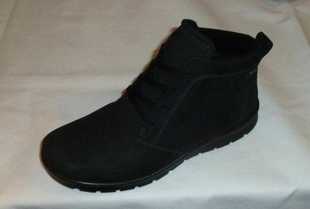 ECCO BABETT BOOT GORE-TEX 215583-02001 Black nubuck ank