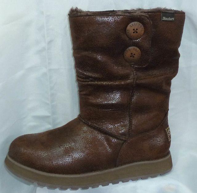 Skechers Keepsakes 48367 BBK Black long boots
