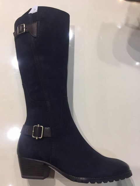Tamaris Aleenlong 25512-810 Navy long boots