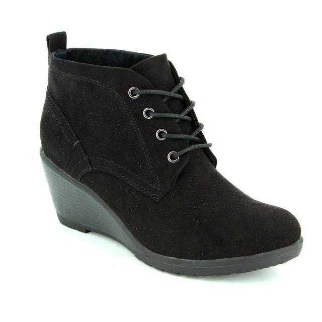 Marco Tozzi Ranco 62 25111-001 Black ankle boots