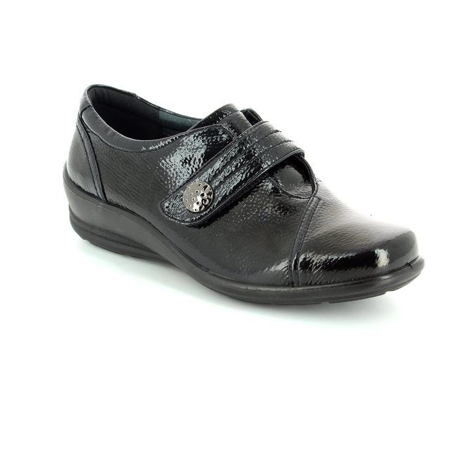 Padders Simone E-ee 200-60 Black patent comfort shoes