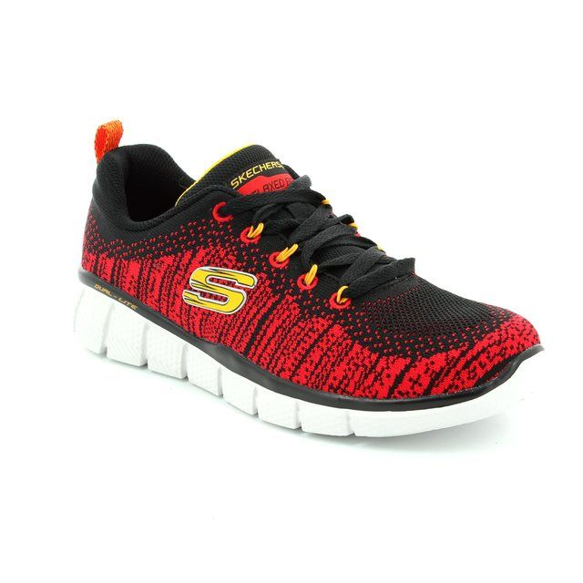 Skechers Perfect Game 97370 BKRD Black-red combi everyd