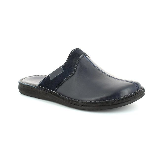 Walk in the City Leamu 2307-28800 Navy house shoe