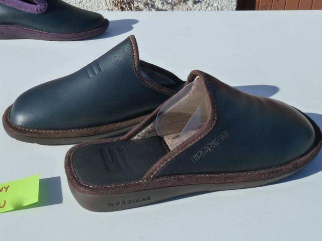 Nordikas Menleamu 42 0131-76 Navy house shoe