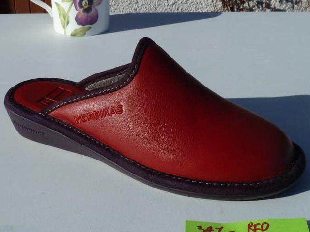 Nordikas Mulea New 0347-8 Purple slipper mules