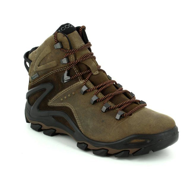 ECCO TERRA EVO GORE-TEX 826504-58923 Brown waxy boots