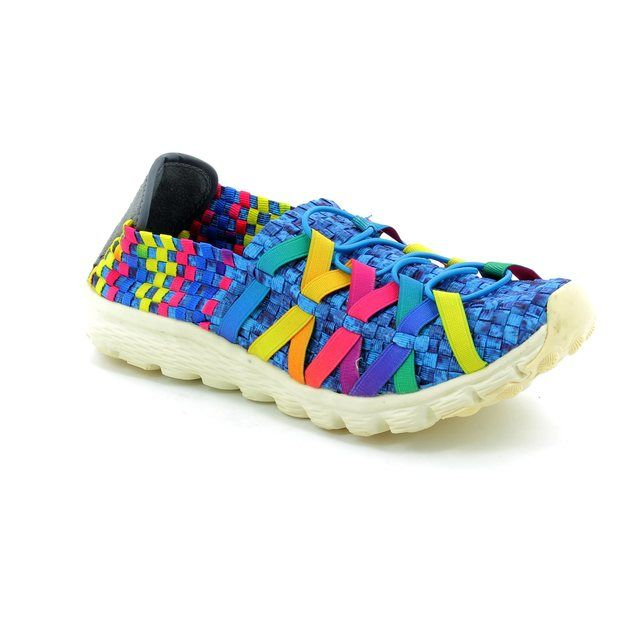 Adesso Danni A3213-70 Blue multi trainers