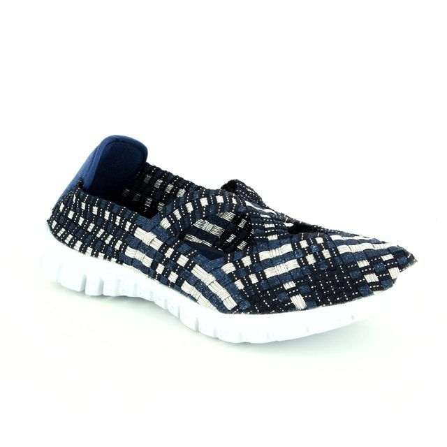 Adesso Trainers - Navy multi - A3728/70 MILA