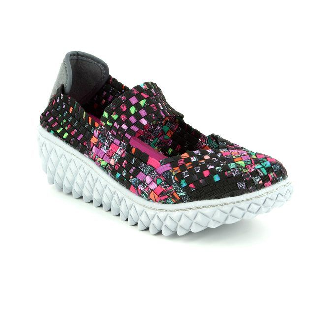 Adesso Nancy A3771-30 Black multi trainers