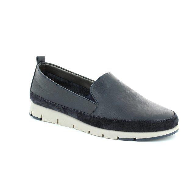 Aerosoles Fast Lane 1001-24 Navy comfort shoes