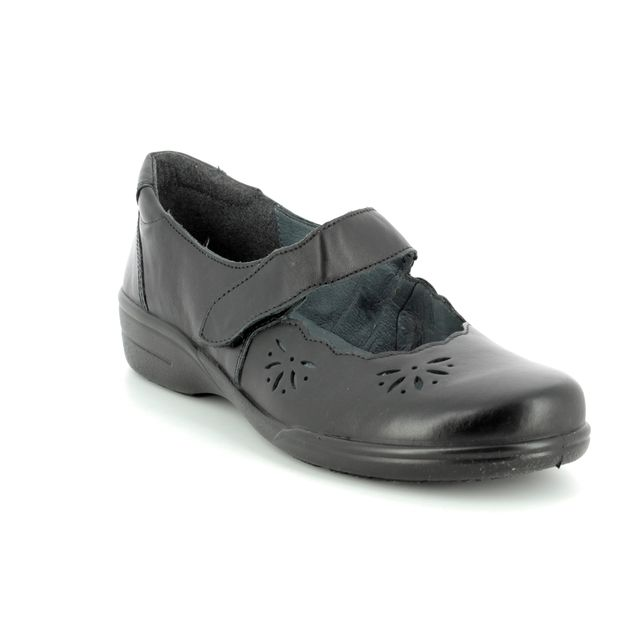 Alpina Mary Jane Shoes - Black - 0F76/4 ANN STRAP