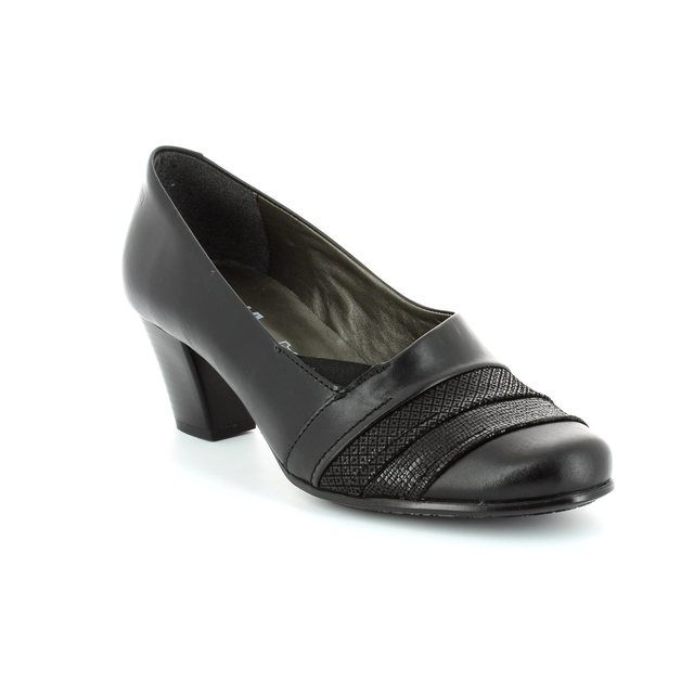 Alpina Dubarry 8Y78-83 Black heeled shoes
