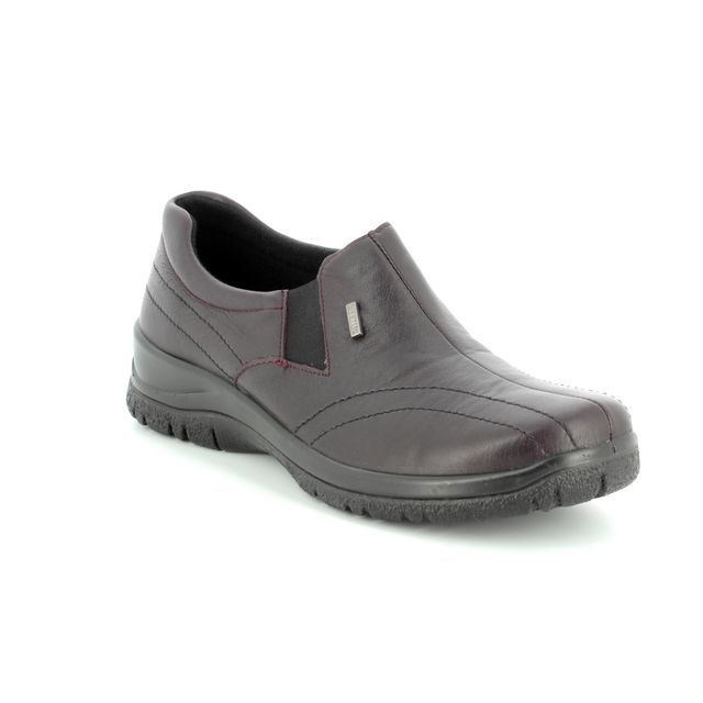 Alpina Comfort Shoes - Wine - 4184/H EIKELEA TEX