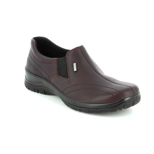 Alpina Comfort Shoes - Wine - 4184/H EIKELEA TEX