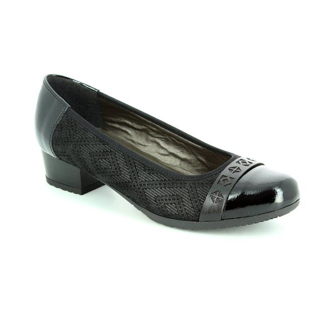 Alpina Pumps - Black patent suede - 8234/4 GLORIA