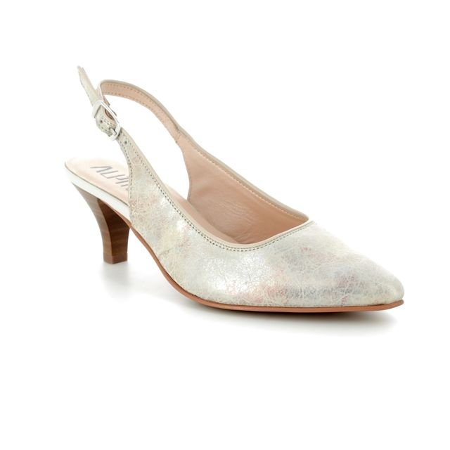 Alpina Heeled Shoes - Beige multi - 9I31/J LATINA 81