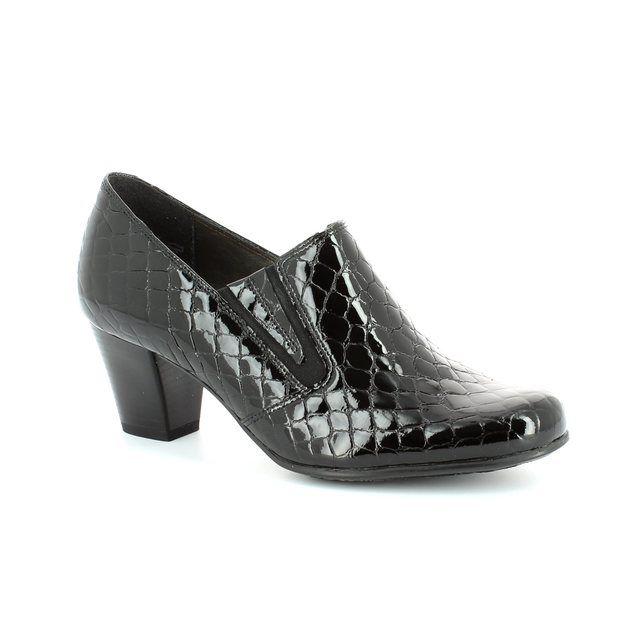 Alpina Paolacroc 8Y77-23 Black croc shoe-boots