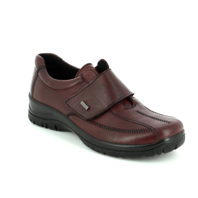 Alpina Comfort Shoes - Wine leather - 4178/E RONYVEL TEX