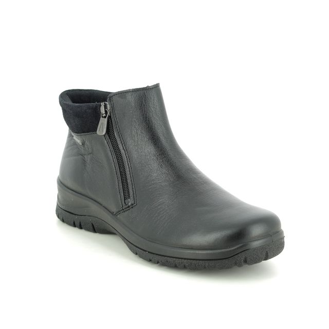 Alpina Ankle Boots - Black leather - 4277/3 RONYZIP TEX BOOT
