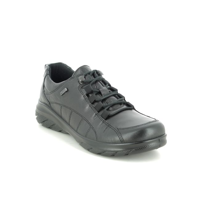 Alpina Lacing Shoes - Black leather - 0R82/1 ROYAL G TEX