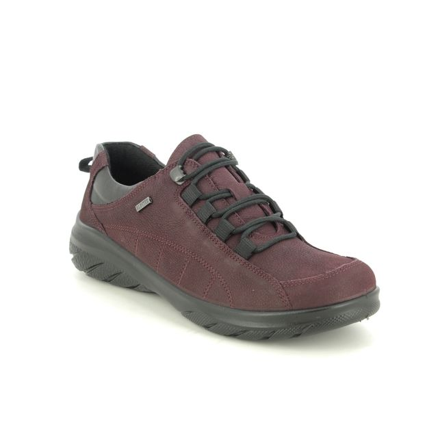 Alpina Lacing Shoes - Red leather - 0R82/2 ROYAL G TEX
