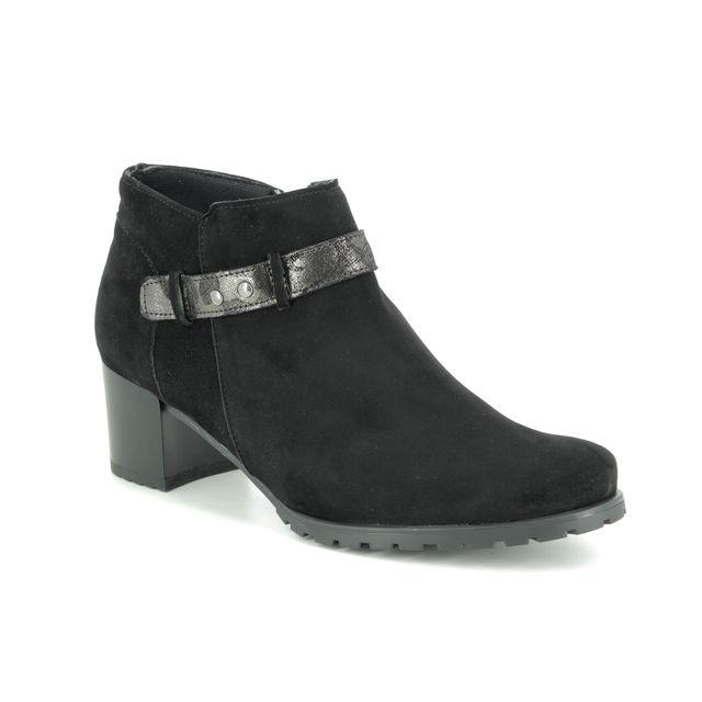 Alpina Shoe-boots - Black suede - 7L44/1 VENDY