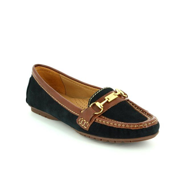 Ambition Loafers - Navy-Tan - 25678/75 ANTONE