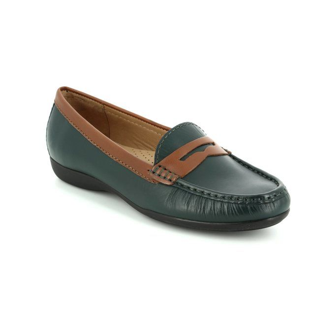 Ambition Candid 24755-95 Green loafers