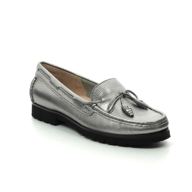 358b38b8ff8 Ambition Porsche Metalic 16628-20 Pewter loafers