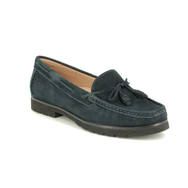 Begg Shoes Loafers - Navy Nubuck - 29113/77 CORVETTE 91